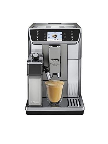 DeLonghi Primadonna Elite ECAM 650.55.MS Espresso Machine 2L Black, Stainless Steel – Coffee Maker (Independent, Espresso Machine, 2 L, Integrated Grinder, 1450 W, Black, Stainless Steel)