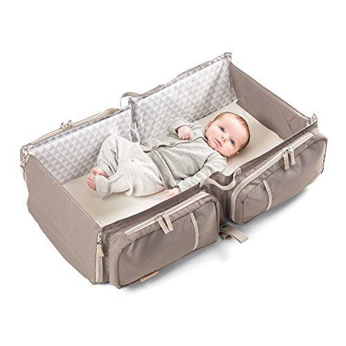 Delta 36001006 Baby Travel Nursery Bag Portable Bassinet and Nappy Changing Station