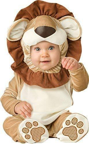 Deluxe Baby Boys Girls Lovable Lion Jungle Book Day Halloween in Character Fancy Dress Costume Outfit (0-6 Months)