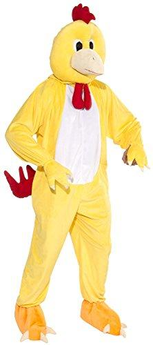 Deluxe Chicken Costume Fancy Dress