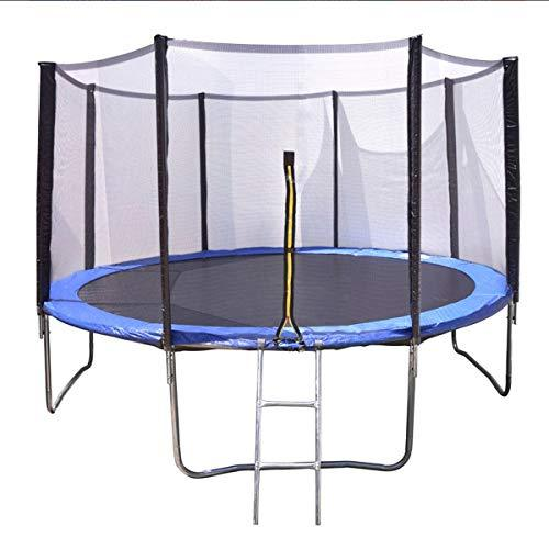 Desconocido Trampoline with Safety Enclosure, Net, Indoor/Outdoor Trampoline (12 FT)