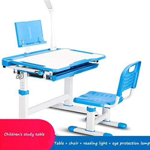 Desks Children's study home student table and chair combination simple lift table and chair student sitting posture correction chair children's function writing