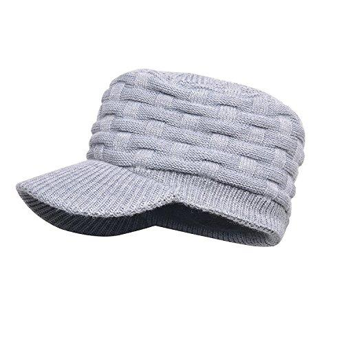 Dexshell Peaked Beanie Hat - Grey/Waterproof Sport Outdoor Camping Camp Hiking Hike Walking Walk Running Run Cycle Cycling Biking Bike Mountaineering Trekking Skiing Ski Man Men Unisex Adult Winter