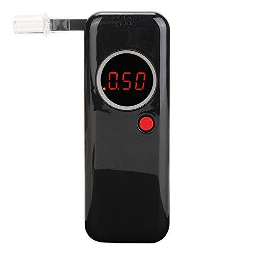 Digtal LED Display Alcohol Tester Detector Analyzer Breathalyzer With English Mannual