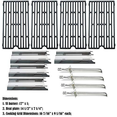 Direct store Parts Kit DG208 Replacement Vermont Grill VM450,VM450SSP Gas Barbecue Grill Burners,Heat Plates,Cooking Grid