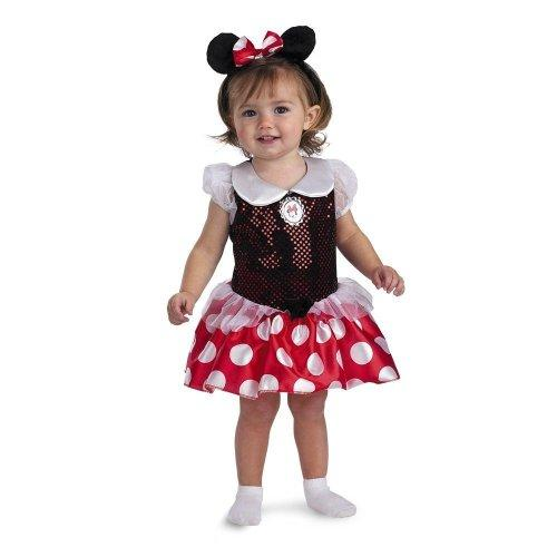 Disguise Infant 12-18 Months - Disney Baby Minnie Mouse Costume (NOTE: MFTR Redesign SEE DETAILS)