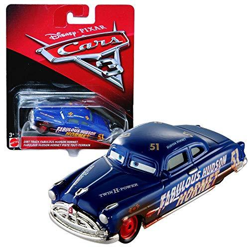 Disney Cars 3 Cast 1:55 - Selection Cars Vehicles Models, Cars 2017:Hudson Hornet Dirty Track