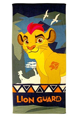 "Disney Lion Guard Kion 28"" X 58"" 100% Cotton Beach/Bath/Pool Towel"