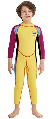 Divesail Kids Uv Protection Rash Guard Full Length 25 Mm Wetsuit