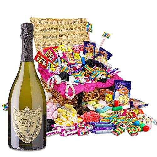Dom Perignon and Classic Retro Sweet Champagne Hamper NV