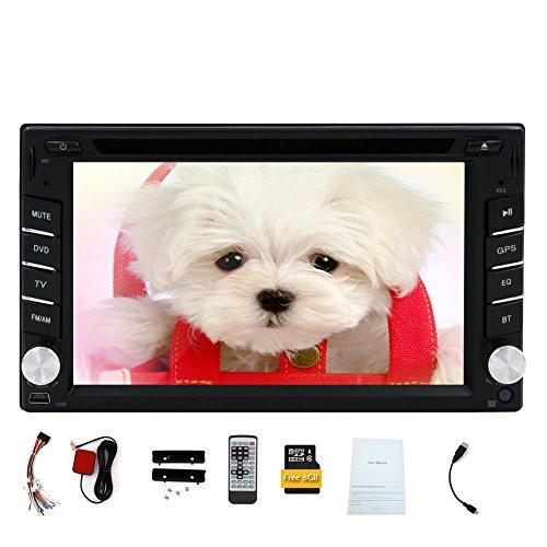 Double 2 din Car DVD Player GPS Navigation Car Stereo In Dash Car PC Head Unit Video Music Player Free Map Card Windows CE Autoradio Car Monitor Windows CE Car PC In Dash Navigator