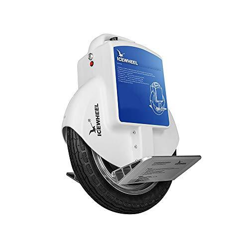 DRAKE18 Electric unicycle, adult travel sense Bluetooth speaker USB charging balance car up to 60km,White