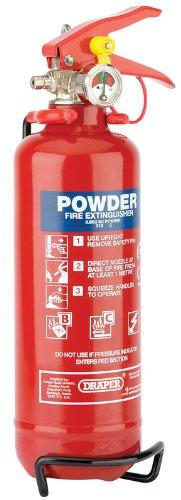 Draper 22314 600G Dry Powder Fire Extinguisher