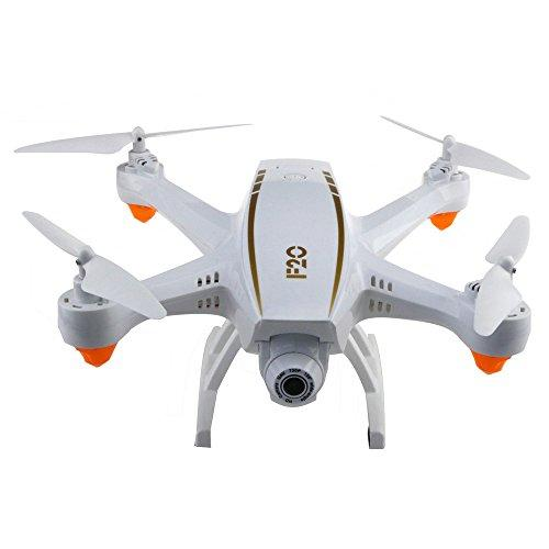 DRESS_toys Rc Airplane Drone Helicopter Remote Control Toy Car F20 2.4G 4CH WiFi 2.0MP Wide Angle Camera RC Drone Quadcopter Latitude hold