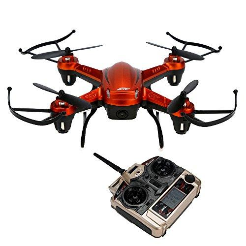 DRESS_toys Rc Airplane Drone Helicopter Remote Control Toy Car H32WH Wifi FPV With 720P HD Camera 2.4G 4CH 6 Axis RC Quadcopter OR