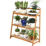 Duan hai rong DHR Flower stand Multi-layer Solid wood Storage shelf Bonsai frame Flower pot holder Display stand Floor-standing Plant stand Plant storage rack (Size : 67x32x91cm)