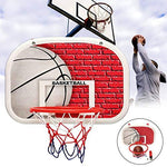 DUCKTOYS Indoor Outdoor Portable Basketball set,46.5 * 32.5cm,Kids indoor outdoor Mini Basketball Backboard Hoop Net Basketball Play Set,Sport Toy Game