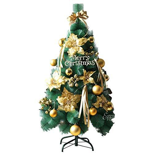 dulplay easy set up christmas tree with lights pre lit decorated shimmering frost decor