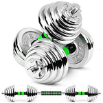 Dumbbell Barbell Adjustable All-Purpose Gym And Home Workouts Lose Weight Body Sculpting Men and women 2×5kg/7.5kg/10kg/15kg (Set Of 2),2X15KG