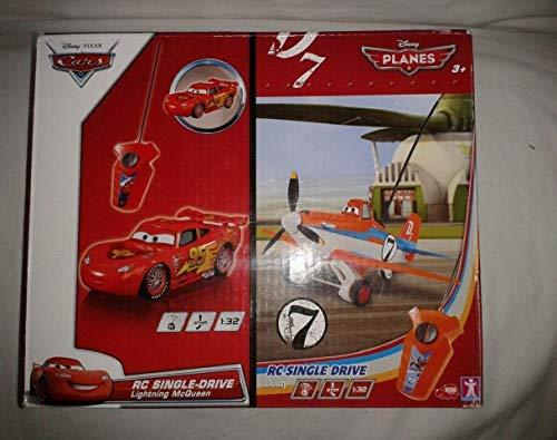 Dusty Plane and Lightning McQueen Radio Controlled Twin Pack (112136900)