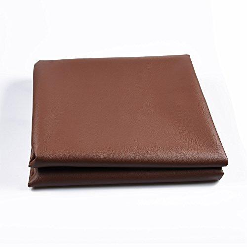 East Eagle Heavy Duty Billard/Pool Table Cover (Brown, 8FT)