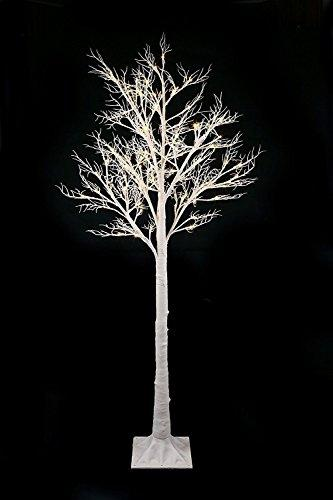 Easter tree with lights white 6ft floor standing twig tree pre easter tree with lights white 6ft floor standing twig tree pre lit with aloadofball Gallery