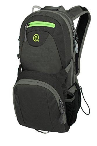 EcoGear Products BG-3757-C Water Dog 2L Hydration Backpack - Charcoal