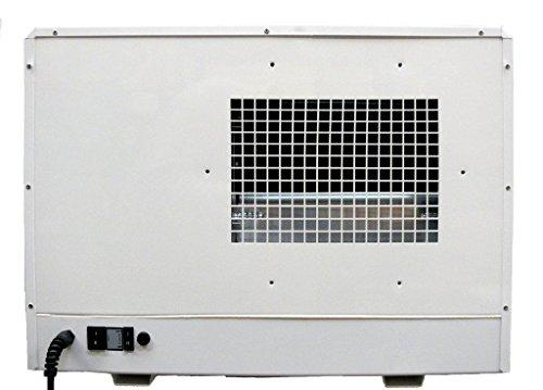 Ecor Pro Dehumidifier, Mild steel, White, One size