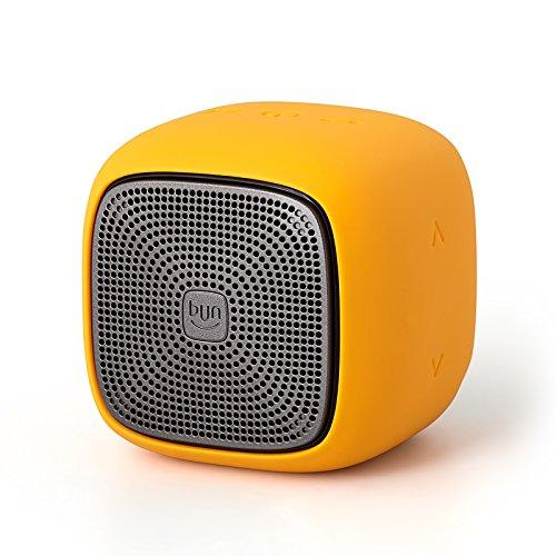 Edifier MP200 Portable Bluetooth Speaker - IP54 Water Dust Proof with microSD Card for Hiking Camping Outdoors - Yellow