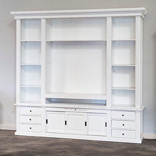 Edlewelt TV Cabinet Unit 283 Florin TV Wall Cupboard Pine White