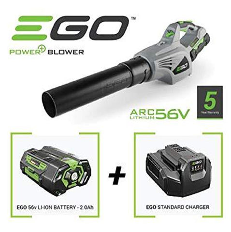 EGO 56V POWERFUL LEAF BLOWER WITH 2.0AH BATTERY & CHARGER 5 YEAR WARRANTY