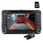 Eincar Car Radio 7 Inch VW 2 Din HD Bluetooth Stereo GPS Navigation FM Multimedia Player Touch Scree USB/SD AUX Input/Output with HD Reverse Camera Car Entertainment+Analog TV