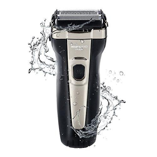 Electric Foil Shaver for Men Wet and Dry USB Rechargeable Corded Cordless Waterproof Electric Beard Trimmer Razor Pop-Up Trimmer