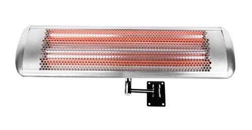 Electric Halogen Wall Mounted Heater with Remote Control 1.8kw