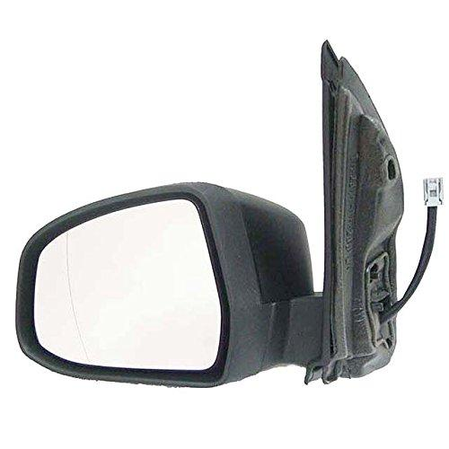 Electric, Heated, Indicator, Primed Door Mirror/ Wing Mirror / Complete Mirror LH (Passenger Side)