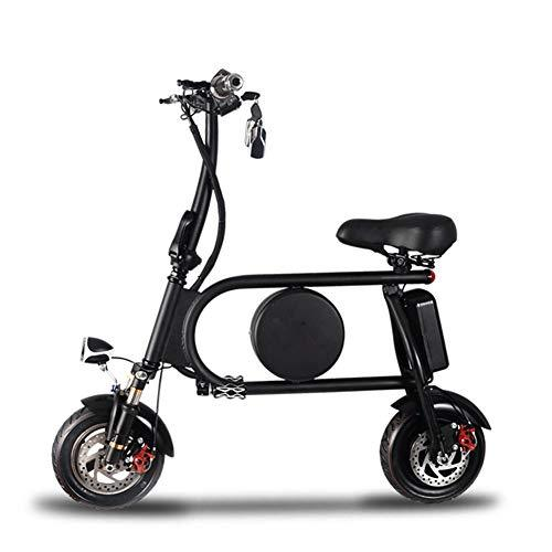 Electric Scooter Bike Adult Folding Scooter City Scooter Student Ultralight Portable Car Front And Rear Shock Absorption