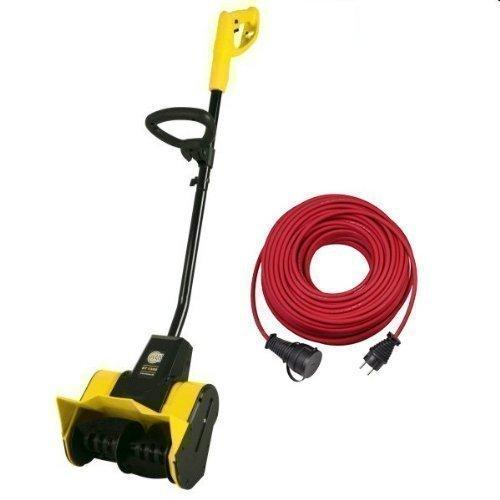 Electric Snow Thrower Snow Buster ST1300 from Texas incl. 25 Metres Extension cable