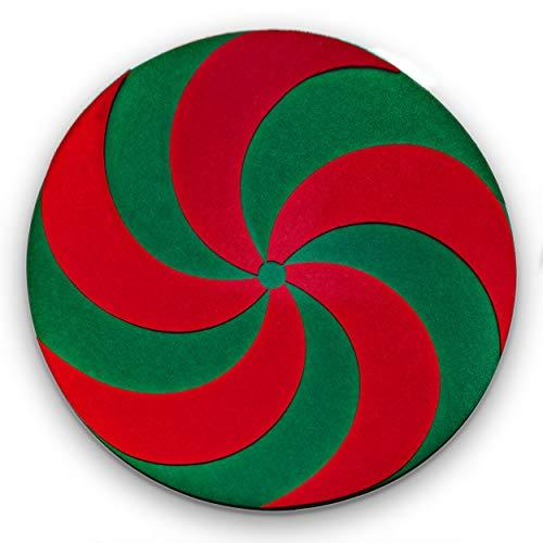Elf Certified Christmas Tree Stand Mat for Floor Protection - Waterproof Christmas Tree Mat for Stands That Protects Your Hardwood and Carpeted Floors from Accidental Spills and Scratches, 30""