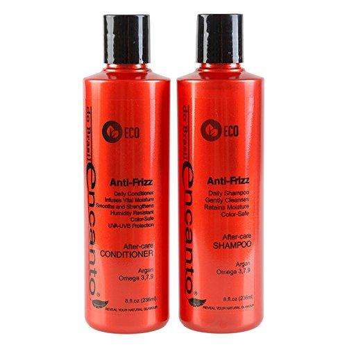 Encanto Shampoo + Conditioner After-Care Anti-Frizz 2x236ml