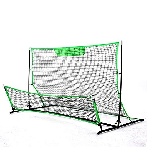 EP-Training Equipment Football Rebound Net, Professional High And Low Double Rebound Net Football Goal Trainer, Player Trainer