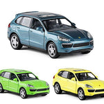ERQINGX Model Decoration 1:32 Alloy Pull Back Cayenne Suv Sports Car Model Of Toy Cars Sound And Light Without Box Kids Toy Gift Collection