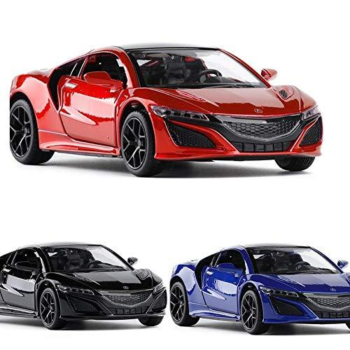 ERQINGX Model Decoration 1:32 High Simulation Scale Acura Nsx Metal Alloy Super Diecast Car Model Toy With Pull Back Sound Light No Box For Kids Gifts