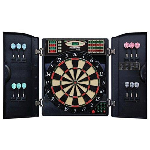 Escalade Sports E-Bristle 3 Piece 1000 LED Electronic Dartboard Cabinet Set by Escalade Sport