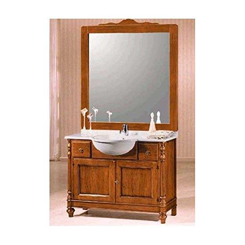 EsteaMobili Mobile bathroom furniture solid wood Arte povera with Mirror – As Photos Classic