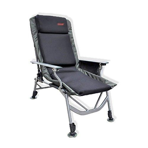 European-style Armchair Outdoor Aluminum Alloy Folding Chair Recliner Perfect for Fishing Camping Garden Caravan Trips Beach