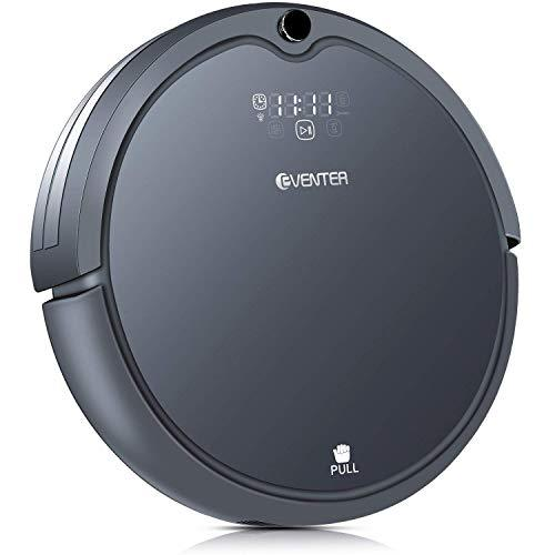 Eventer Self-Charging Robotic Vacuum Cleaner with Strong Suction, Drop-Sensing Technology for Hard Floor and Low-pile Carpet