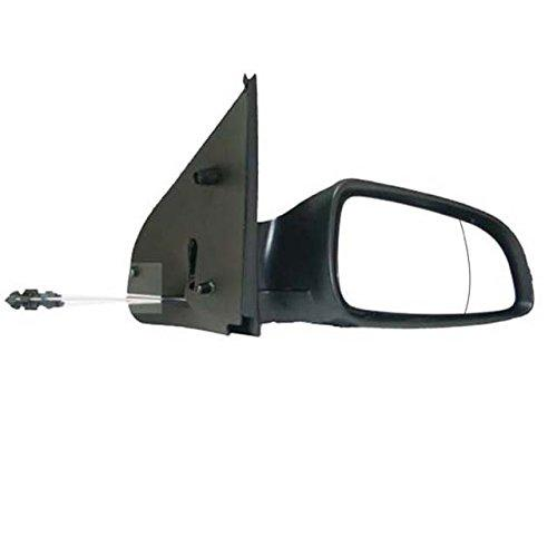 Excl. TwinTop, Cable Control (Manual), Black Door Mirror/ Wing Mirror / Complete Mirror RH (Driver Side)