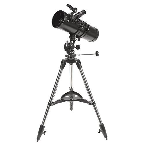 Explore Scientific 88-20114 Aurora Ii Flat Black 114Mm Slow Motion AZ Mount Telescope,
