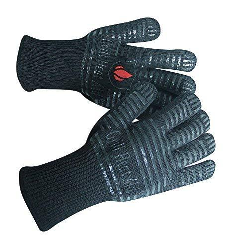 "Extreme Heat BBQ Grill Gloves for Baking, Grilling, Oven Use – Protection Up To 932°, 14"" Long, 2 Gloves"