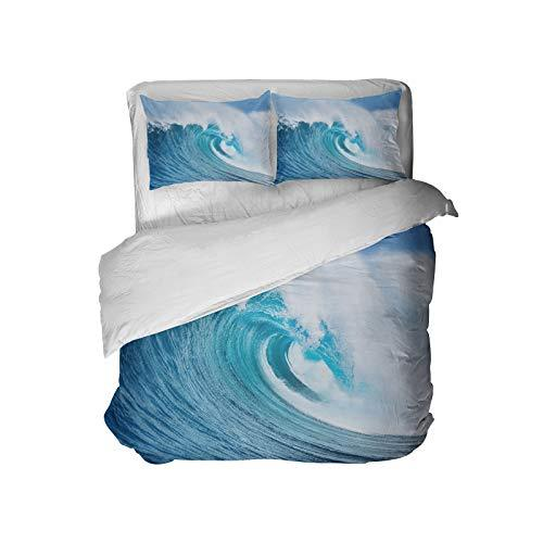 Extremely Stoked Surfer Bedding Ocean Blue
